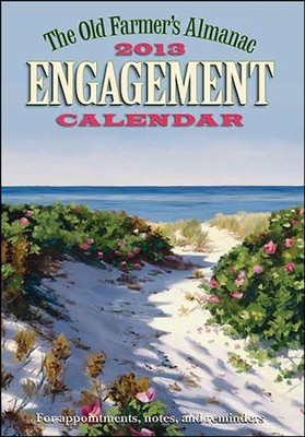 The Old Farmer's Almanac 2013 Engagement Calendar  -