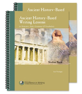 Ancient History-Based Writing Lessons, Third Edition,  Teacher/Student Combo  -     By: Lori Verstegen