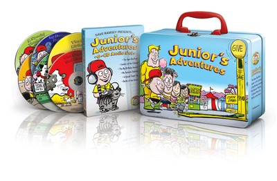 Junior Adventures-Audio Set with Lunch Box   -     By: Dave Ramsey