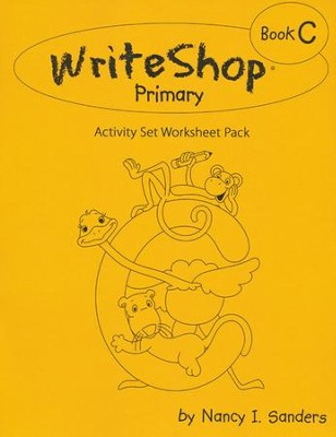WriteShop Activity Set Worksheet Pack, Book C   -
