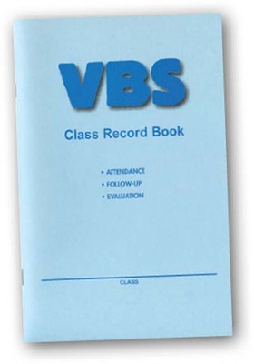 VBS Class Record Book  -