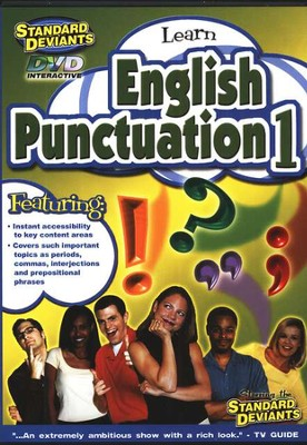 English Punctuation DVD 2 Pack   -