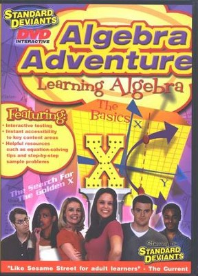 Learning Algebra and Learn Algebra 2 DVD 2-Pack   -