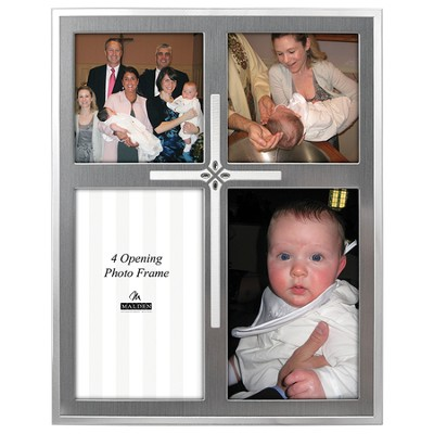 Photo Frame with Cross  -