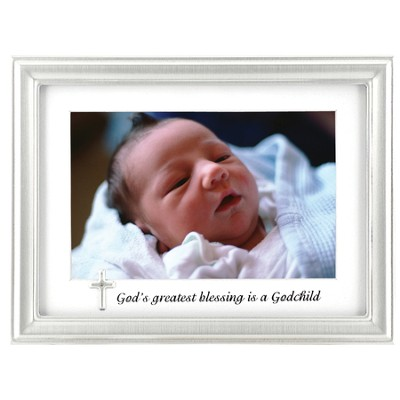 God's Greatest Blessings is a Godchild Photo Frame  -
