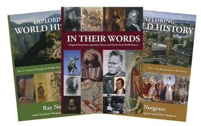 Exploring World History Curriculum Package, Updated Edition  -     By: Ray Notgrass