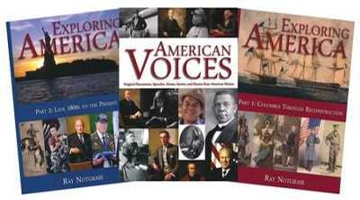 Exploring America, Updated Edition -- Curriculum Package  -     By: Ray Notgrass