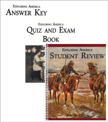 Exploring America Quiz & Exam Pack (Updated Edition)  -     By: Ray Notgrass