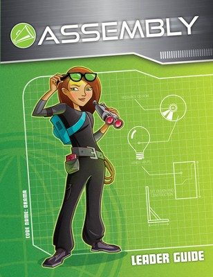 International Spy Academy Assembly Guide with CD-ROM  - Slightly Imperfect  -