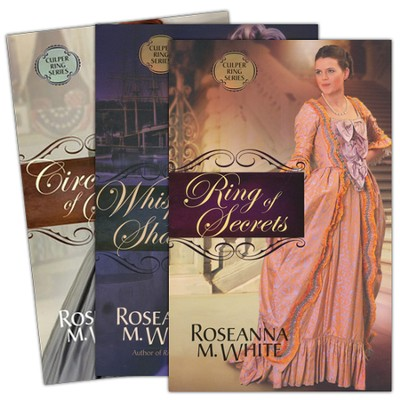 Culper Ring Series, Volumes 1-3  -     By: Roseanna M. White
