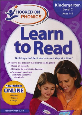 Hooked On Phonics: Learn To Read Kindergarten Level 2   -