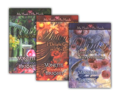 My Heart in His Hands Devotionals--3 Volumes   -     By: Vonette Zachary Bright