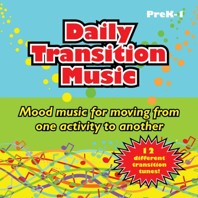 Daily Transition Music Audio CD  -     By: Blair Bielawski