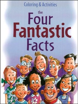 The Four Fantastic Facts Coloring & Activity Book (Ages 8-11)  -