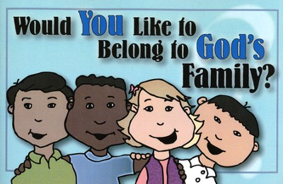 Would You Like to Belong to God's Family Activity Book  -