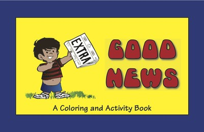 Good News Coloring and Activity Book   -