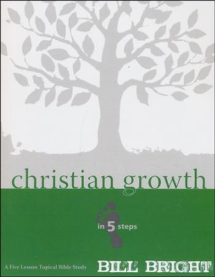 Christian Growth in Five Steps Study Guide   -