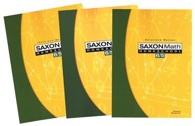 Saxon Math 65 Home Study Kit Third Edition  - Slightly Imperfect  -