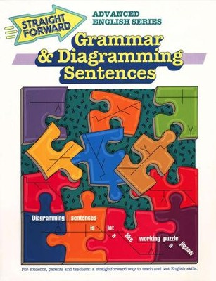 Grammar & Diagramming Sentences Straight Forward Series   -     By: Nan DeVincent-Hayes