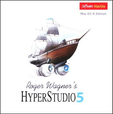 HyperStudio 5 on CD-Rom (for MAC OS X)   -