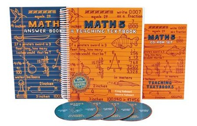Teaching Textbooks Math 5 Complete Kit   -     By: Greg Sabouri, Shawn Sabouri