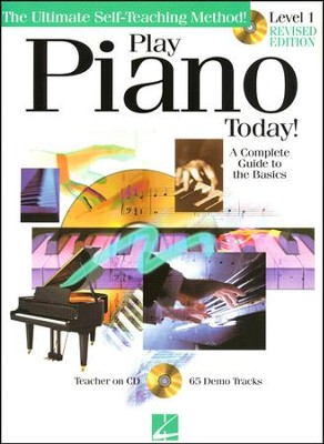 Play Piano Today! Beginners Pack- Book/CD/DVD   -