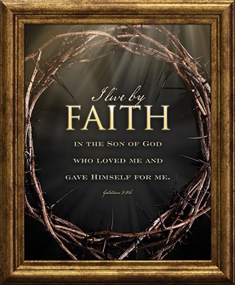 Faith, Crown of Thorns Framed Art  -