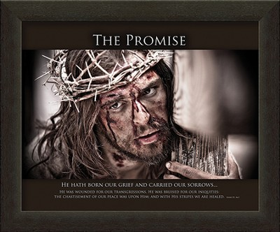 The Promise, He Hath Born Our Grief Framed Art  -