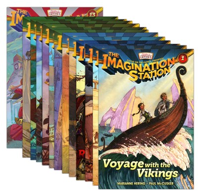 Adventures in Odyssey The Imagination Station ® - Volumes 1 -13  -