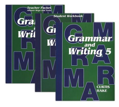 Hake's Grammar & Writing Grade 5 Kit  -     By: Stephen Hake, Christie Curtis, Mary Hake
