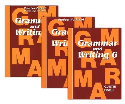 Hake's Grammar & Writing Grade 6 Kit  -     By: Stephen Hake, Christie Curtis, Mary Hake