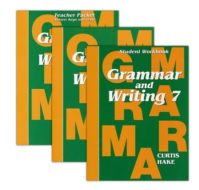 Hake's Grammar & Writing Grade 7 Kit  -     By: Stephen Hake, Christie Curtis, Mary Hake