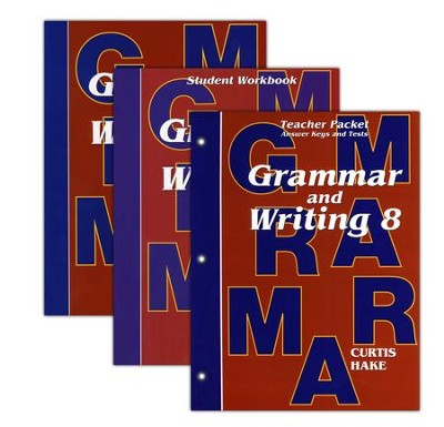 Hake's Grammar & Writing Grade 8 Kit  -     By: Stephen Hake, Christie Curtis, Mary Hake