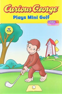Curious George Plays Mini Golf: Curious About Numbers,  Reading Level 1  -     By: H.A. Rey