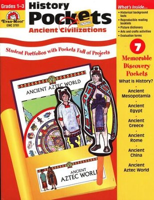 Ancient Civilizations, History Pockets, Grades 1-3   -