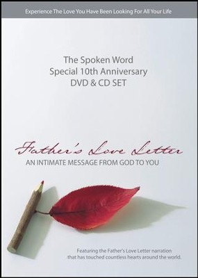 Father's Love Letter DVD & CD Set   -