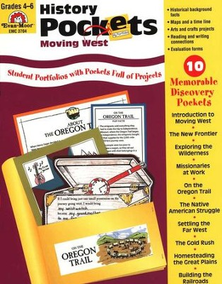 History Pockets: Moving West, Grades 4-6   -