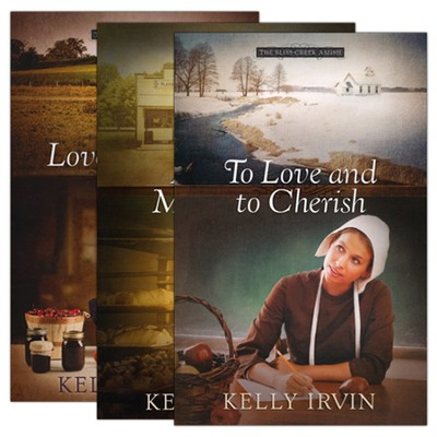 The Bliss Creek Amish Series, Volumes 1-3  -     By: Kelly Irvin