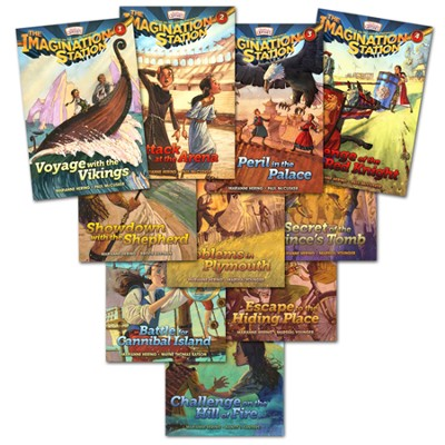 Adventures in Odyssey The Imagination Station® Series Volumes 1-10  -