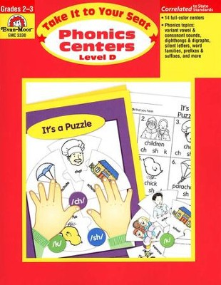 Phonics Centers: Take It to Your Seat, Grades 2-3   -