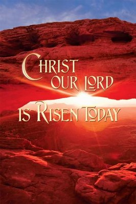 Christ Our Lord Is Risen Today, Bulletins, 100  -