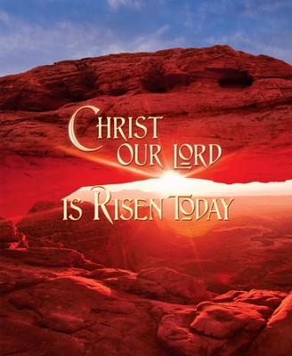Christ Our Lord Is Risen Today, Large Bulletins, 100  -