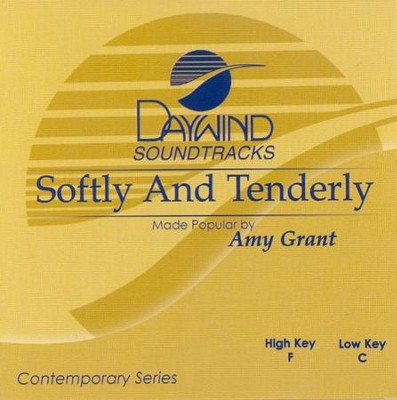 Softly & Tenderly, Accompaniment CD   -     By: Amy Grant