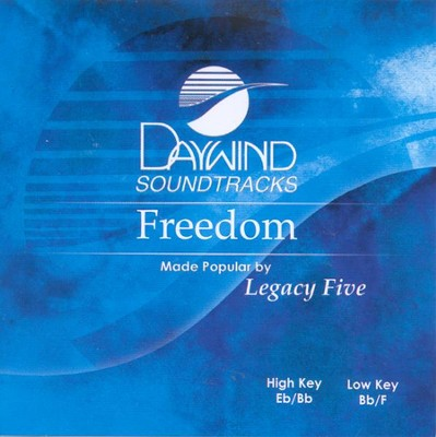 Freedom, Accompaniment CD   -     By: Legacy Five