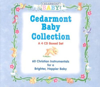 Cedarmont Baby Collection, 4 CD Boxed Set   -     By: Cedarmont Baby