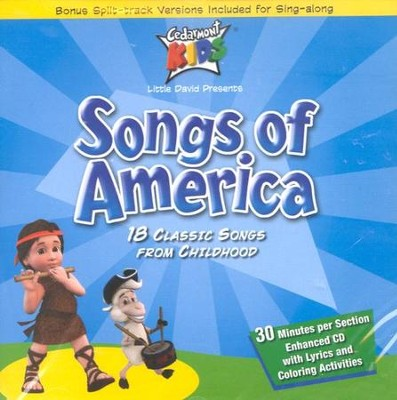 Songs of America CD   -     By: Cedarmont Kids