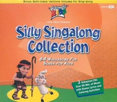 Silly Singalong Collection, 3 Compact Disc [CD] Set   -     By: Cedarmont Kids