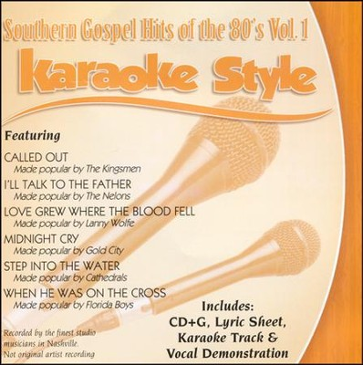 Southern Gospel Hits of the 80's, Volume 1, Karaoke Style CD  -     By: Various Artists