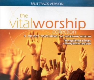 The Vital Worship Collection, Split-Track Version, 3 CD Set   -