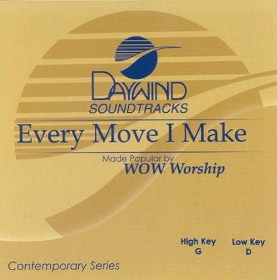 Every Move I Make, Accompaniment CD   -     By: WOW Worship